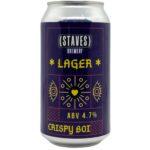 Staves – Aussie Lager 10L