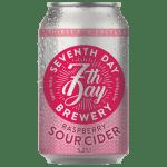 7th Day – Apple & Raspberry Sour Cider 20L