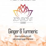 Zentient Ginger & Turmeric Kombucha 20L
