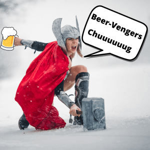 How To Save Our Planet By Drinking Beer… Like a Beer-Venger!