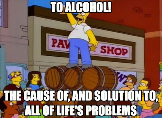 Alcohol Cause